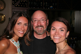 Pat with Beautiful Daughters
